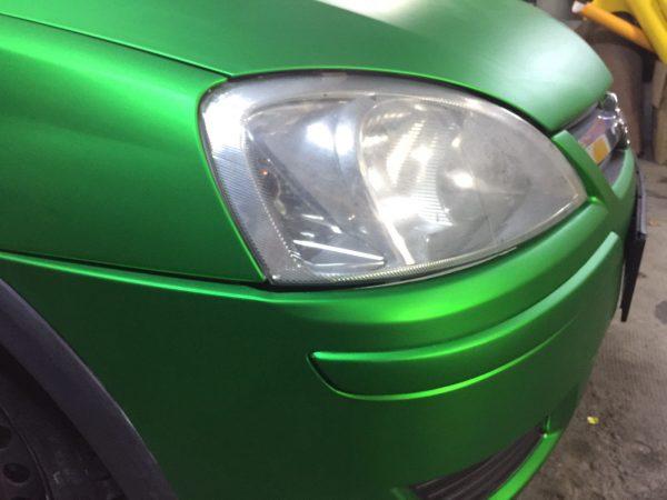 Mat Metalic Verde GLS MC007