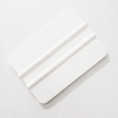 Racleta moale cu nervuri culoare alba GLS-A46